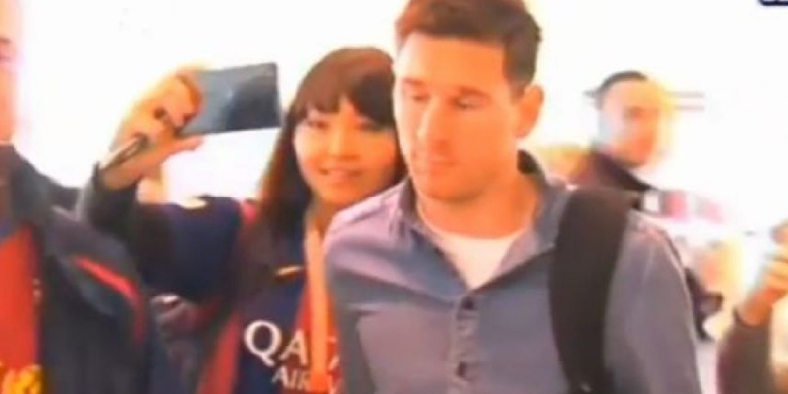 Los 5 selfies más tristes de la historia: Messi en el Aeropuerto de Vigo