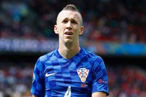El croata Ivan Perisic no quiere pasar desapercibido en la Eurocopa. Foto:Getty Images