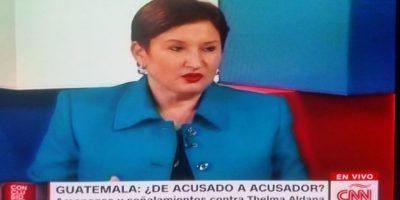 Thelma Aldana estuvo en Conclusiones con Fernando del Rincón