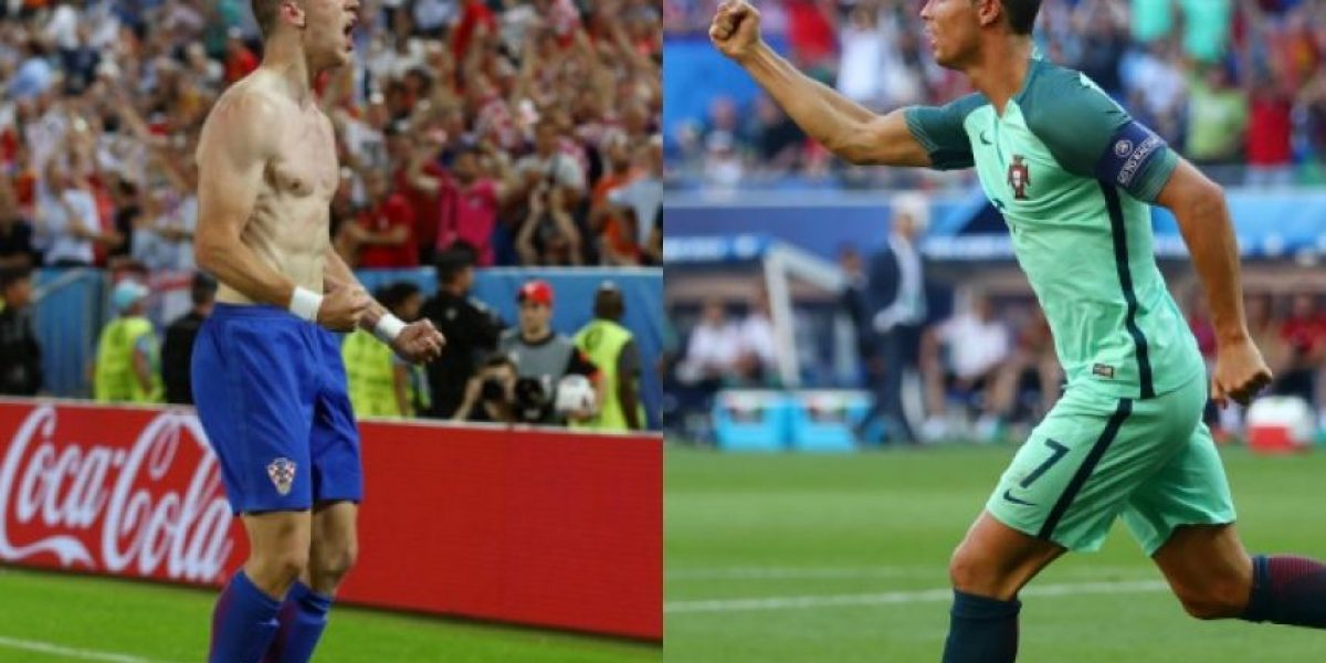 A qué hora juegan Croacia con Portugal en los octavos de la Euro