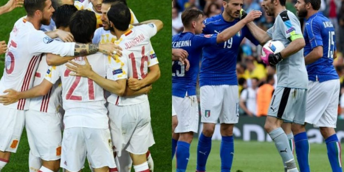 A qué hora juegan España con Italia en los octavos de la Eurocopa
