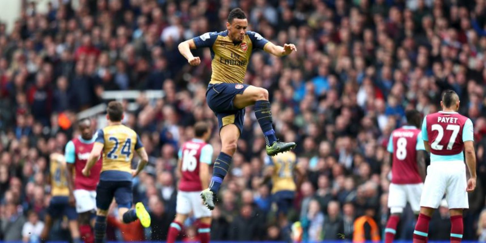 Francis Coquelin no podría haber estado en el Arsenal Foto: Getty Images