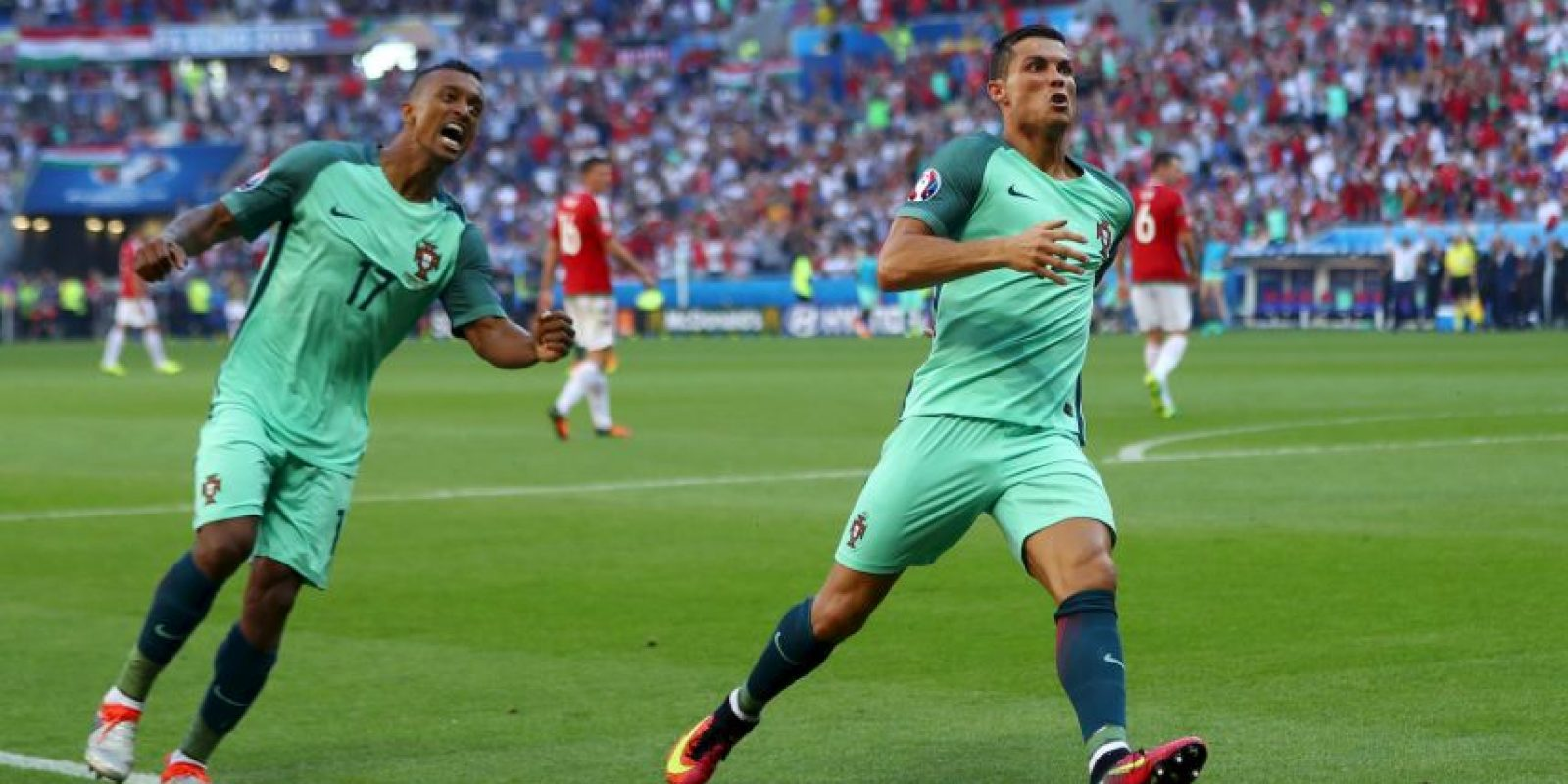 Los lusos sólo avanzaron tras empatar en la última fecha ante Hungría y accedieron como uno de los mejores terceros Foto:Getty Images