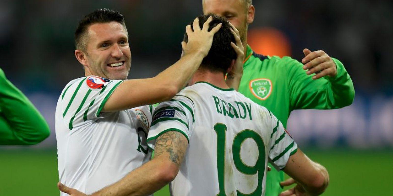 Irlanda ya viene de sorprender a Italia y ahora espera hacer lo mismo ante Francia Foto:Getty Images
