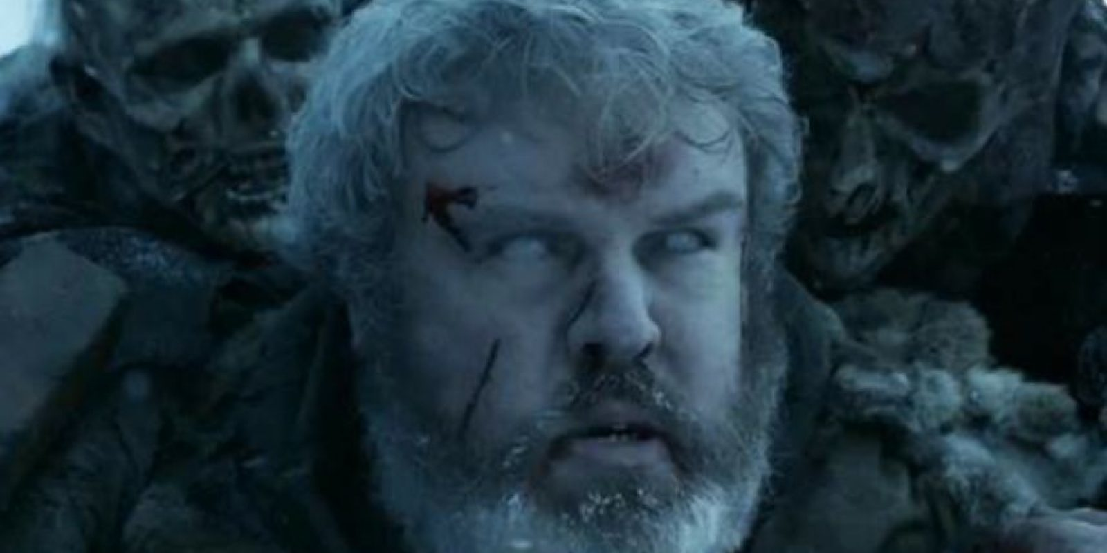 Hodor murió en un lapso temporal iniciado por Bran, a quien protegía. Foto:vía HBO