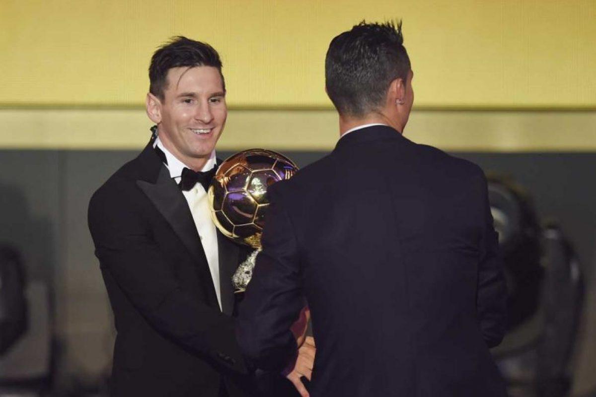 """A lo largo de los años, Cristiano Ronaldo y Lionel Messi han competido por el título de """"El Mejor del Mundo"""". Foto:Getty Images"""
