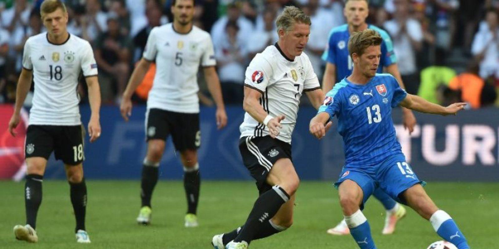 Los alemanes no tuvieron problemas para avanzar a la siguiente fase en la Euro. Foto:AFP