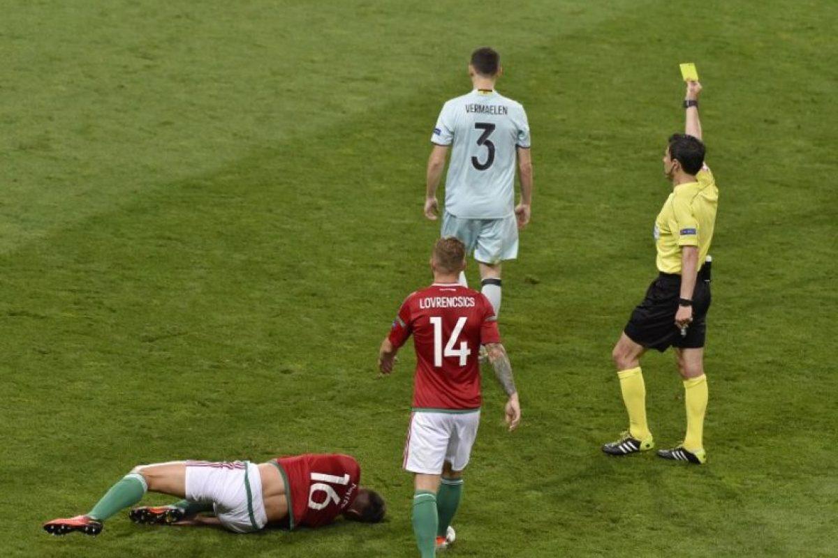 Los belgas lograron su pase a los cuartos de final con contundencia ante los húngaros. Foto:AFP