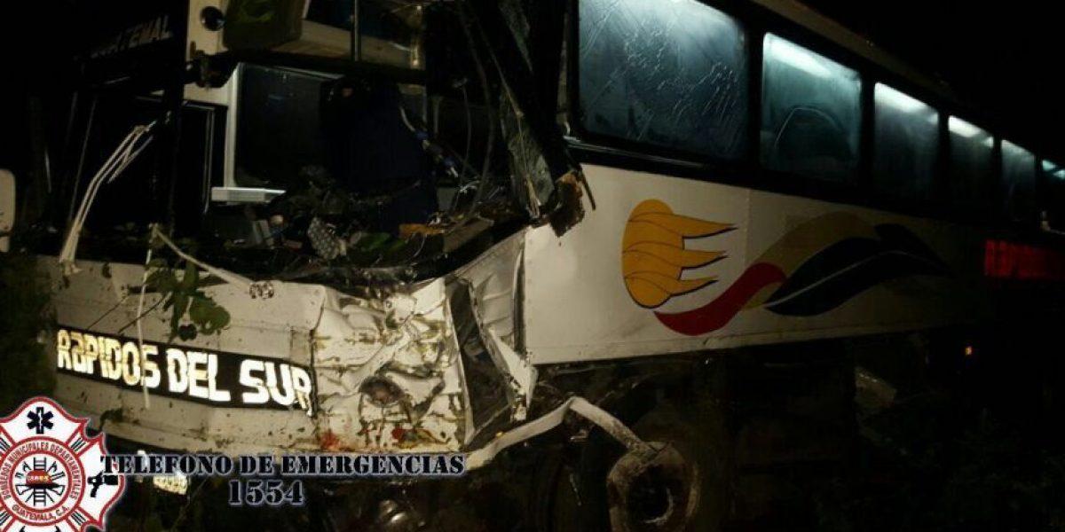 Accidente en ruta a Tecún Umán, San Marcos, deja 8 muertos