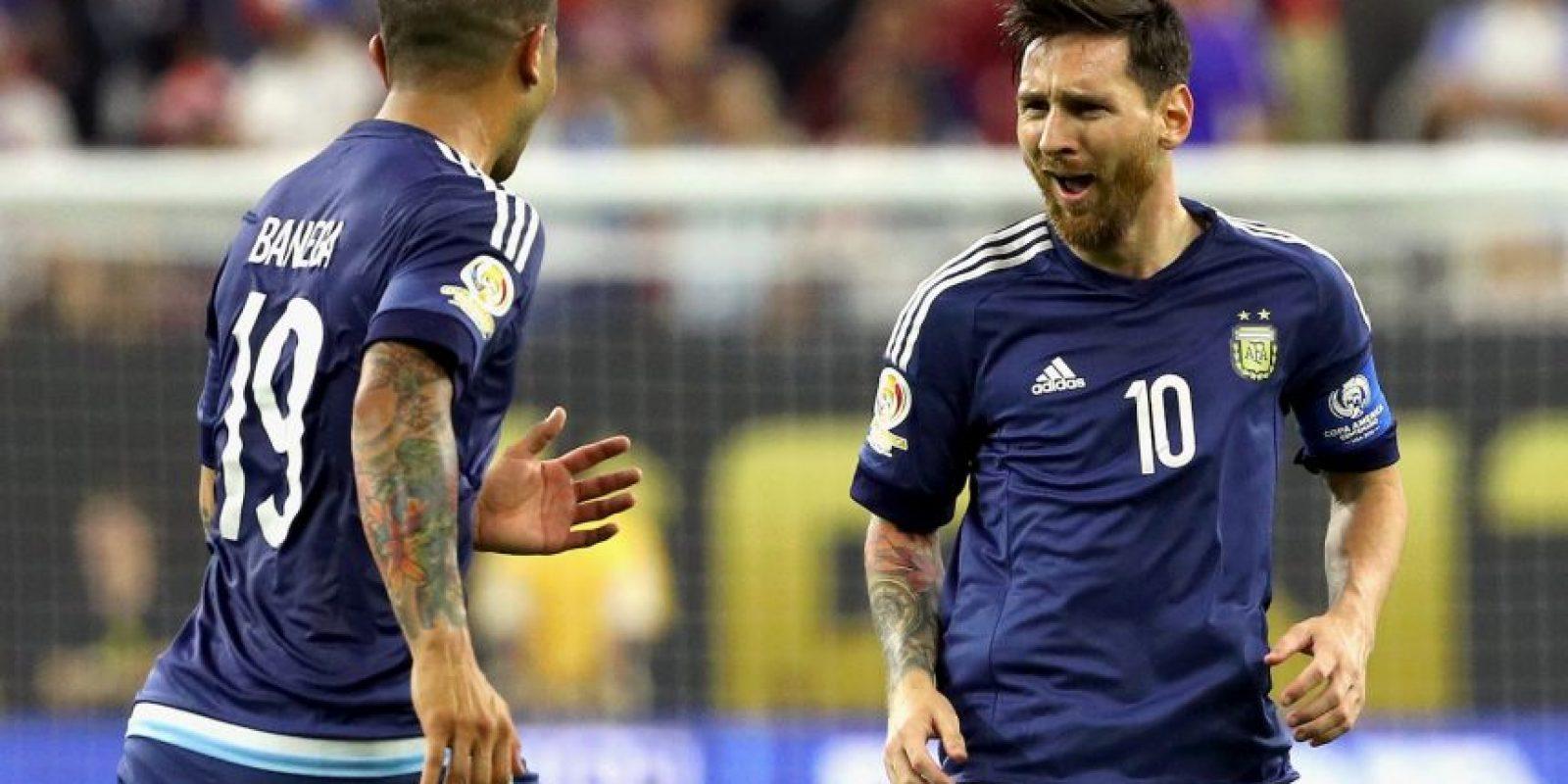 Argentina llega a la final tras vencer a Estados Unidos por 4 a 0 en la semifinal Foto:Getty Images