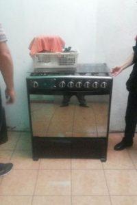 La estufa. Foto:MP