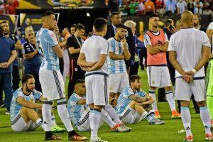 Argentina suma seis finales perdidas de forma consecutiva Foto:AFP