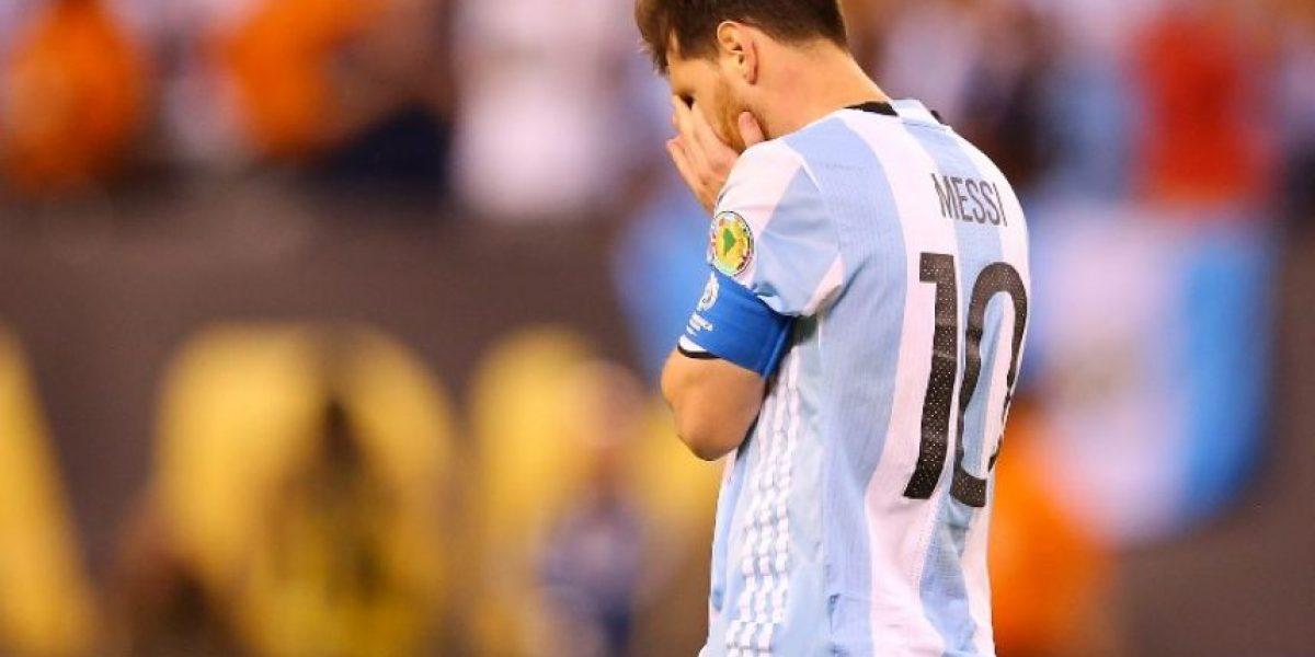 Lionel Messi renuncia a la selección de Argentina