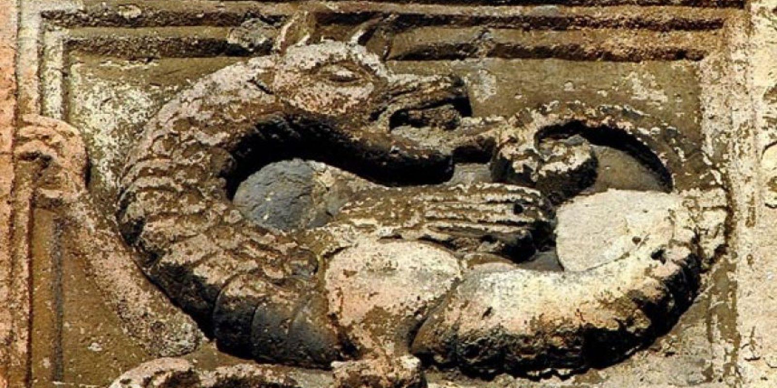 También se han encontrado registros de uróboros en la mitología nórdica. Foto:Wikimedia