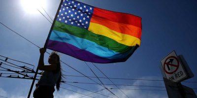 También es común encontrar a personas heterosexuales que apoyan la búsqueda de los derechos de la comunidad. Foto:Getty Images