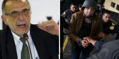 Pérez pide un psicólogo para Iván Velásquez y un examen psiquiátrico para Juan Carlos Monzón