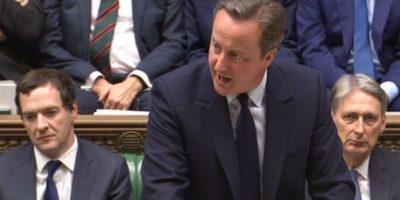 Esto dijo el primer ministro británico en el Parlamento tras el