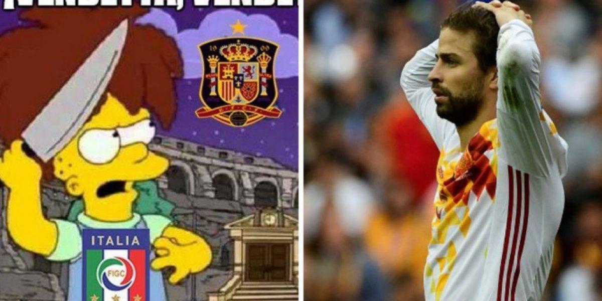 Los memes de la eliminación de España en la EURO