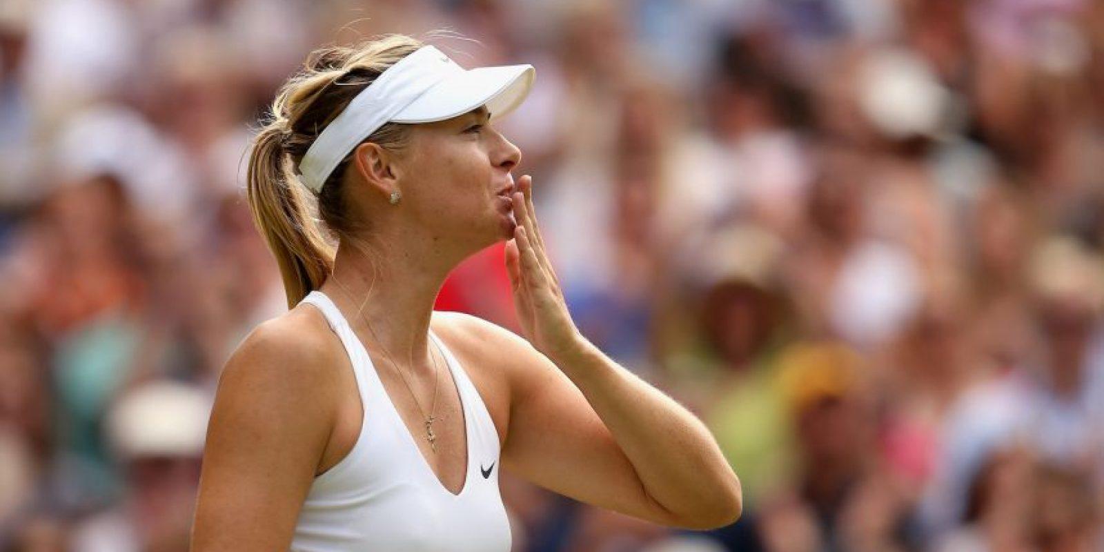 Maria Sharapova tomará clases en Harvard, después de ser suspendida Foto:Getty Images