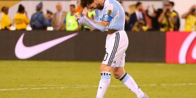 """Así reaccionó la """"Pulga"""", luego de perder la Copa América Centenario Foto:Getty Images"""