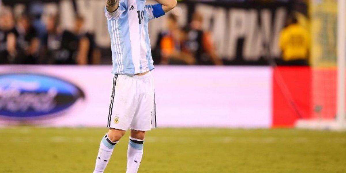 Messi anuncia su retiro de la selección argentina