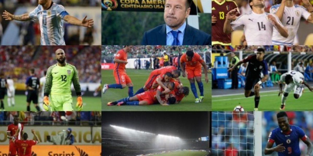 Los 20 momentos que marcaron la Copa América Centenario