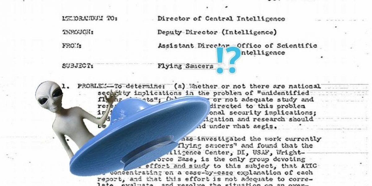 Comunicados revelan que la CIA tiene conocimiento sobre OVNIs