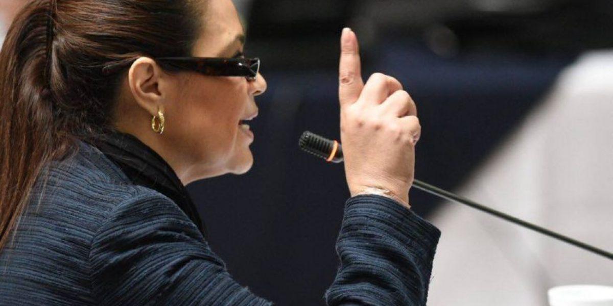 La inesperada confesión de Roxana Baldetti sobre la bandera de Casa de Dios