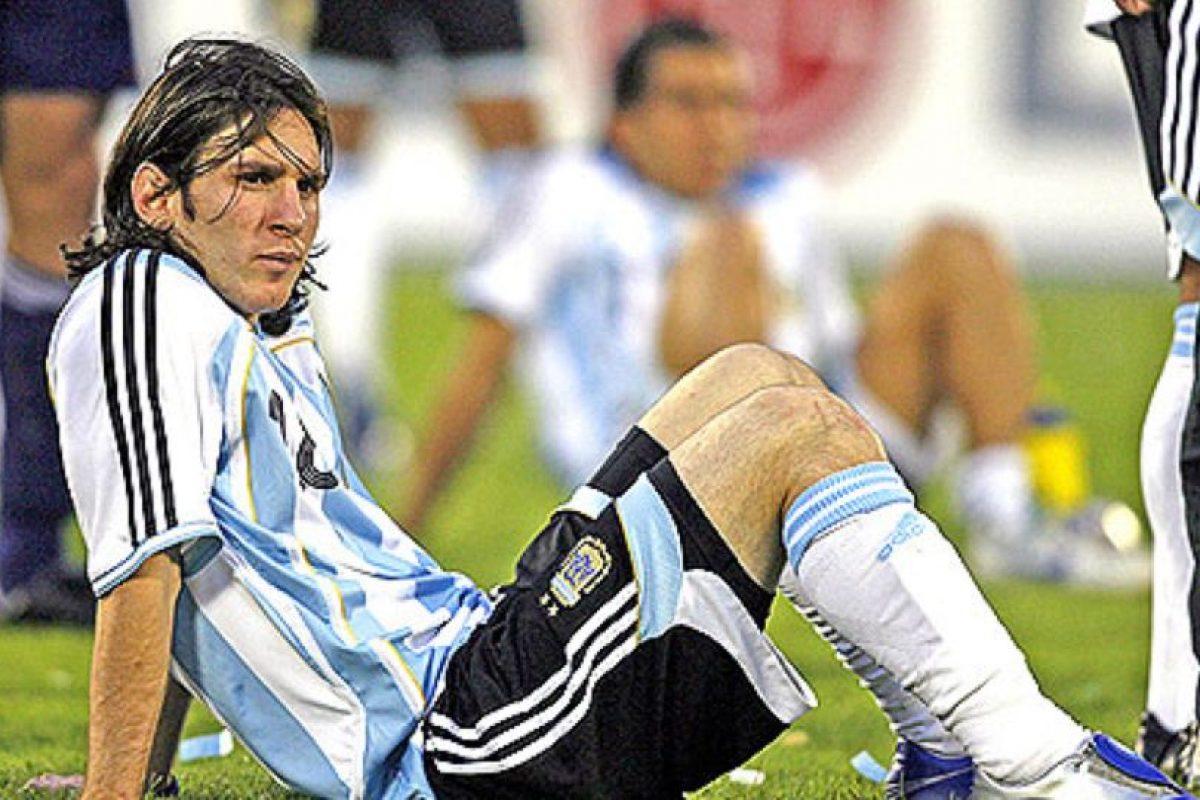 Y fue derrotado en la final de la Copa América 2007 Foto:Getty Images