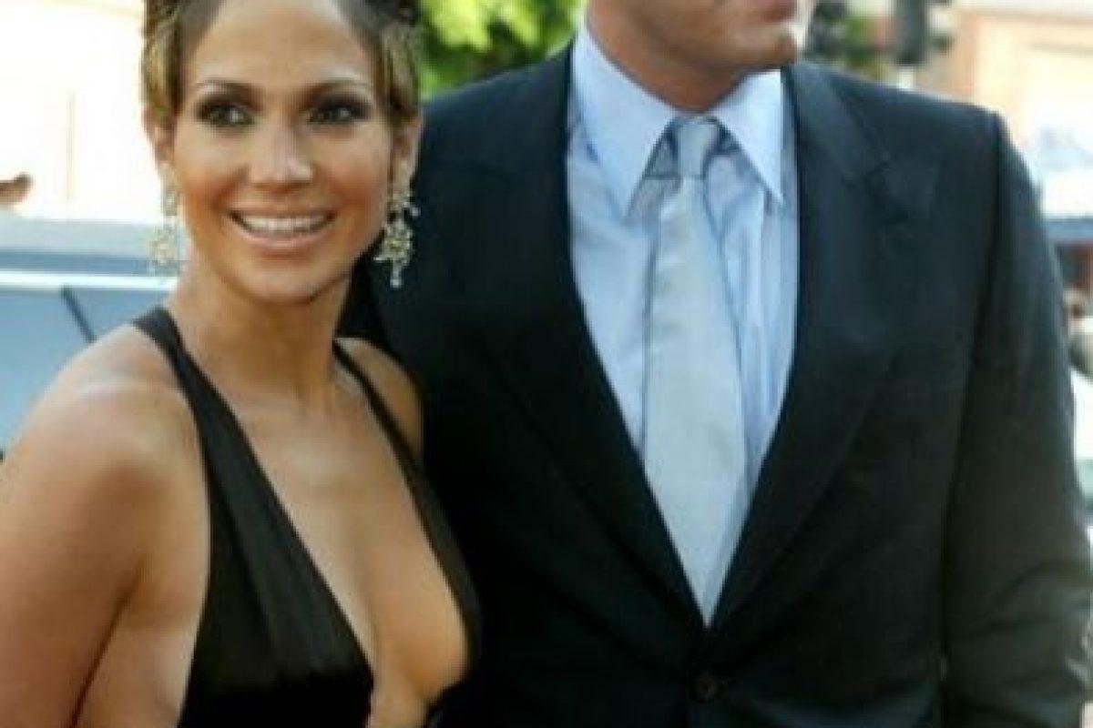 Sostuvieron una relación amorosa en 2004 Foto:Getty Images