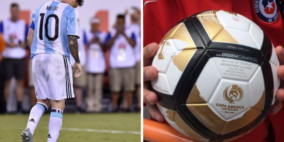 ¿Quién atrapó el balón del penal que falló Messi en la final?