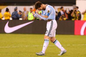 Lionel Messi y Argentina perdieron la final de la Copa América Centenario con Chile Foto:Getty Images