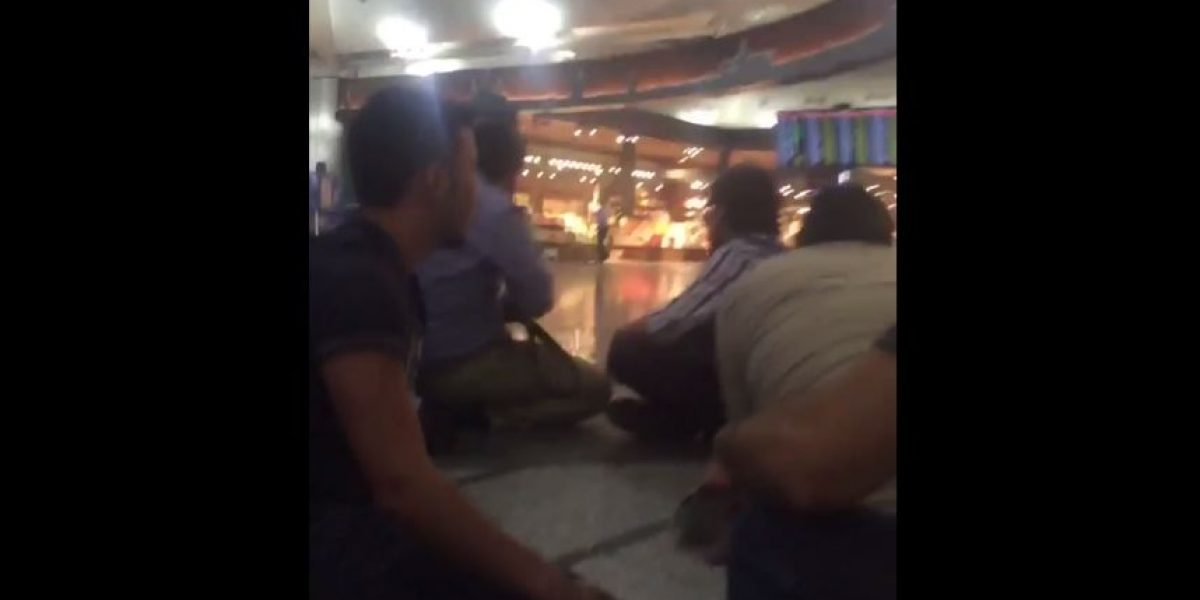 VIDEO: Así fueron los primeros momentos en el interior del aeropuerto de Estambul tras los atentados