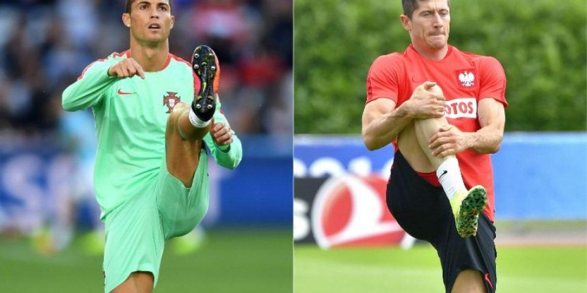 Cristiano Ronaldo vs. Robert Lewandowski ¿Quién pesará en los cuartos?