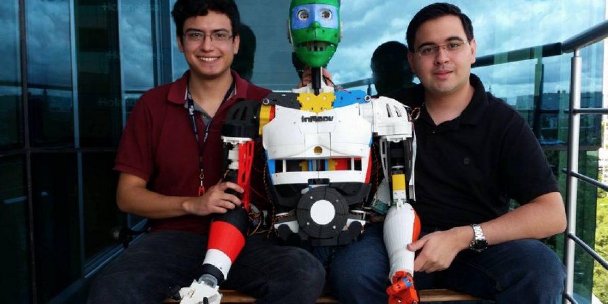 Conoce a Leonardo GreenMoov, el robot creado por guatemaltecos