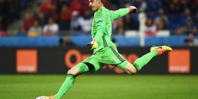 ¿Repetirá el gesto en el partido ante Gales? Foto:Getty Images