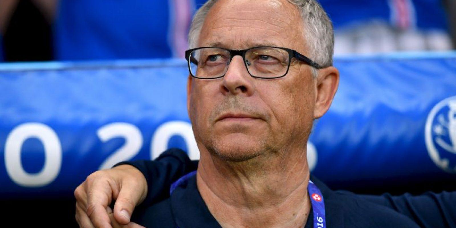 Lars Lagerbäck llegó para dirigir a Islandia en la Eurocopa Foto:Getty Images