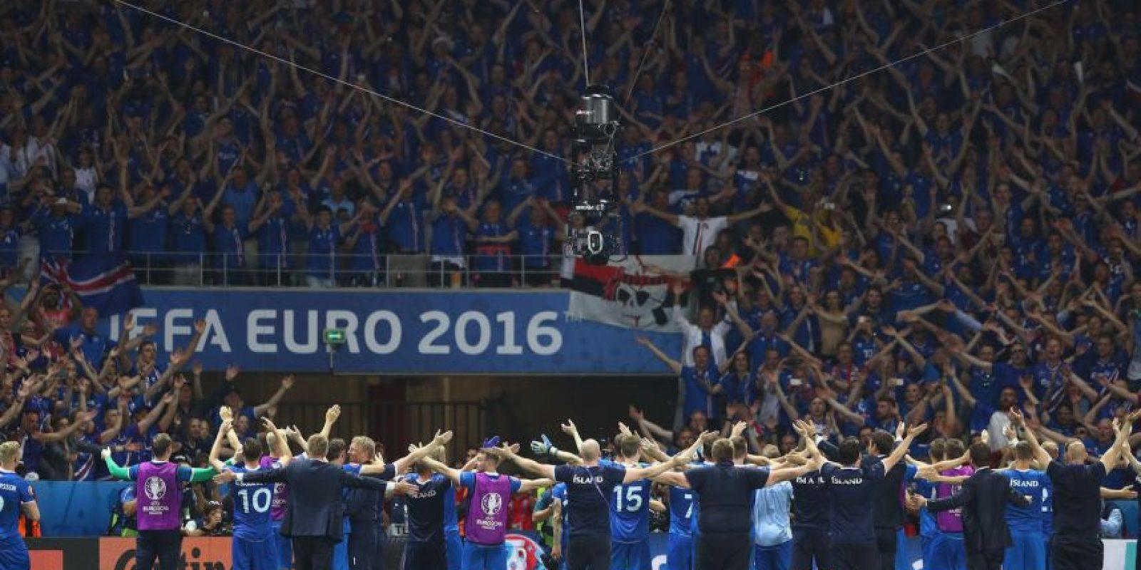 Los fanáticos intimidan con su verdadero 'grito de guerra' Foto:Getty Images