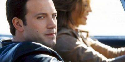 """Ben Afleck en """"Gigli"""" (2002). Si no es por """"Argo"""" y Jen Garner, Ben estaría en las listas de """"¿Qué fue de…?"""". Foto:Columbia Pictures"""