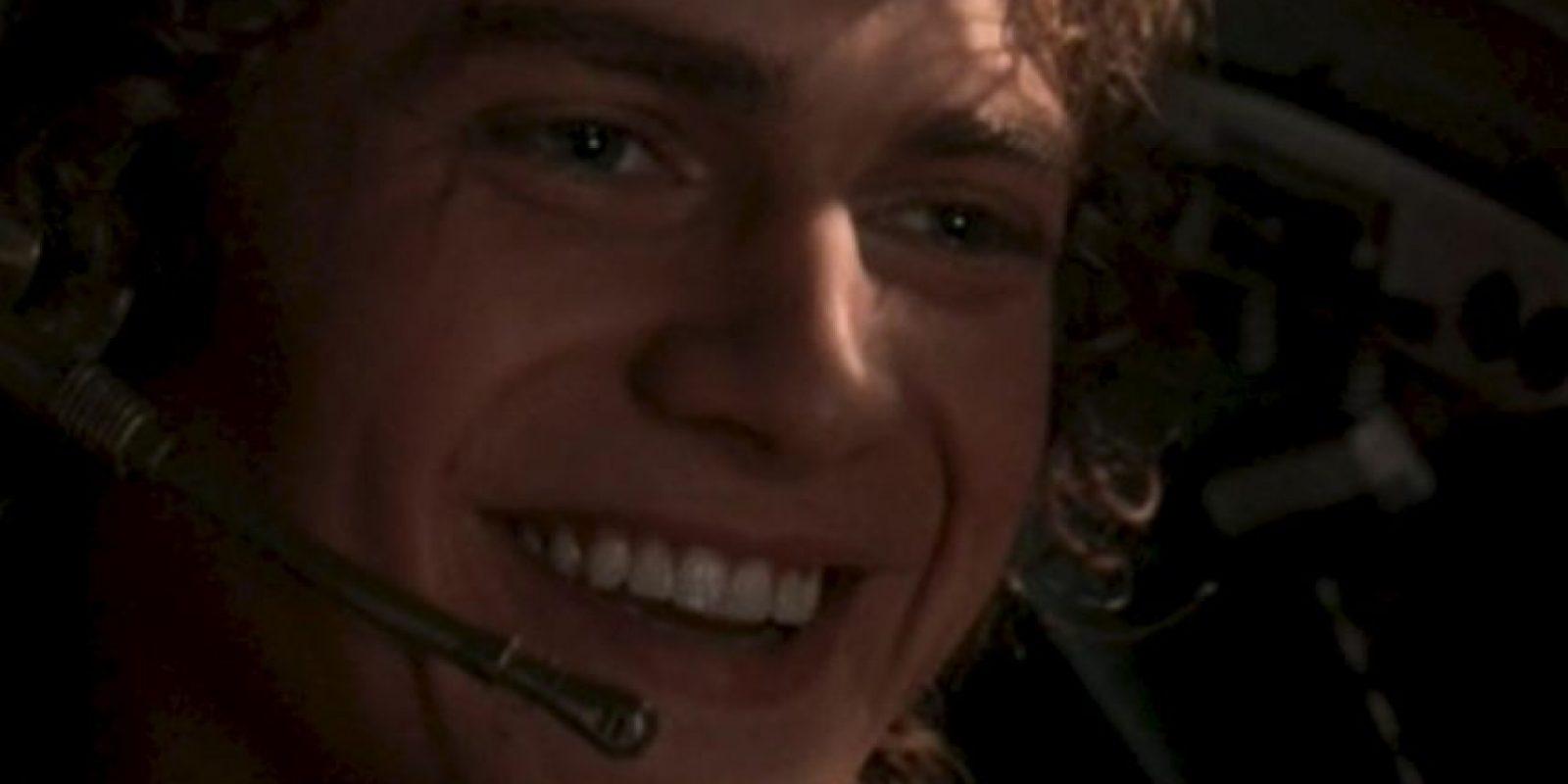 """Hayden Christensen en """"Star Wars"""". ¿En serio alguien creía que podía hacer algo mejor que un Anakin bravucón? Foto:FOX"""