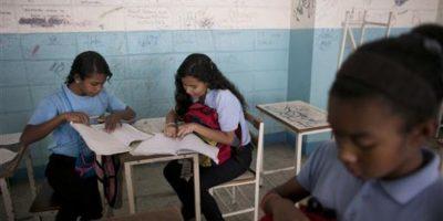Además de las condiciones en las que se encuentran las instalaciones educativas en el país Foto:AP