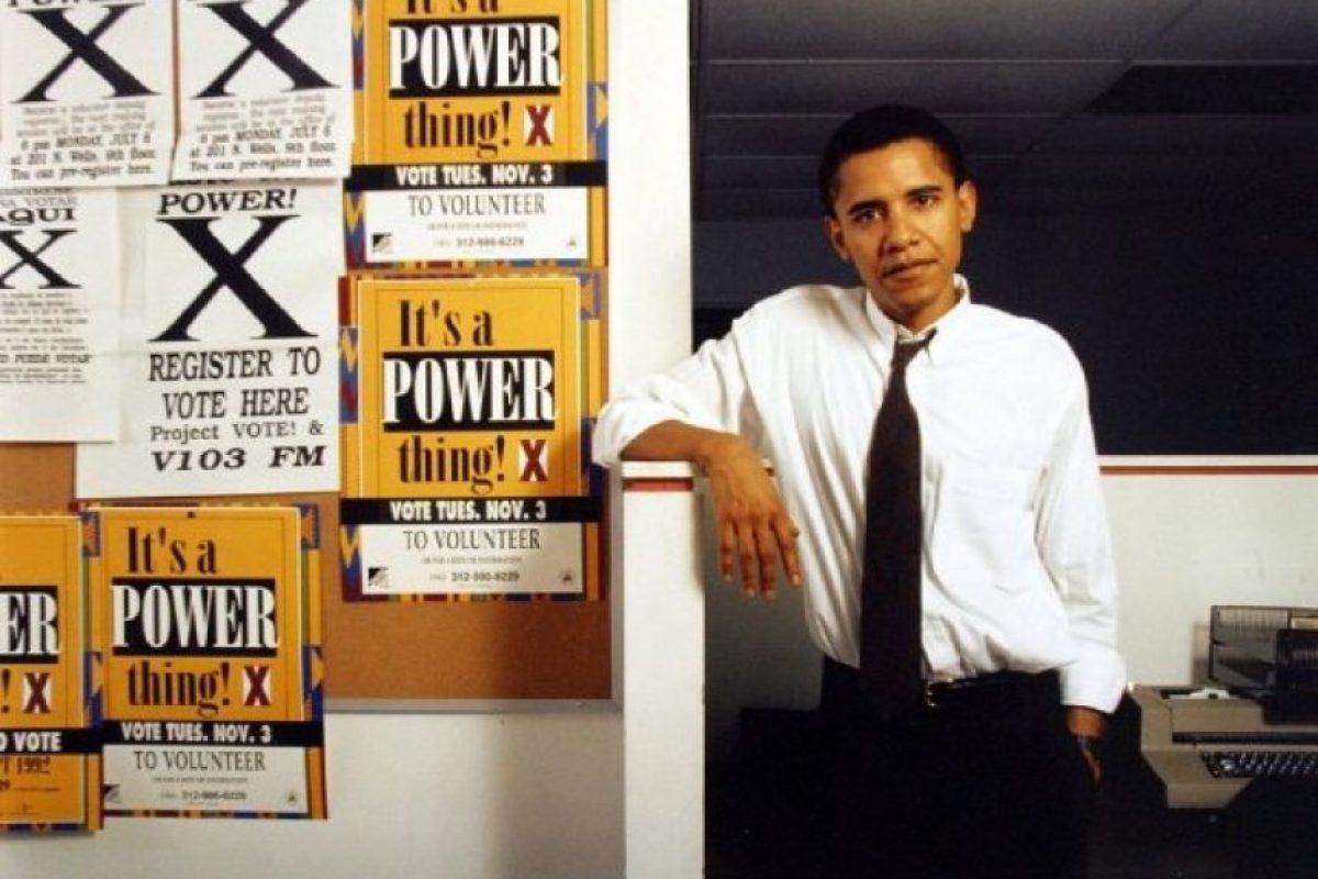 Llegó a ser el editor de la revista Harvard Law Review Foto:Facebook: Barack Obama