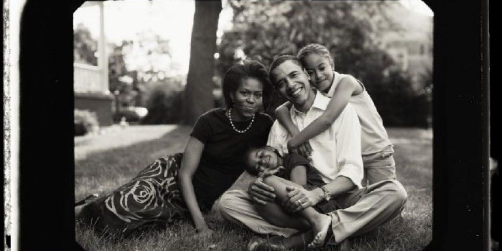 Conoció a Michelle Robinson en 1989 y se casaron en 1992 Foto:Facebook: Barack Obama
