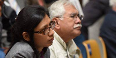 Abogada defiende a su papá Edín Barrientos en su primer caso penal