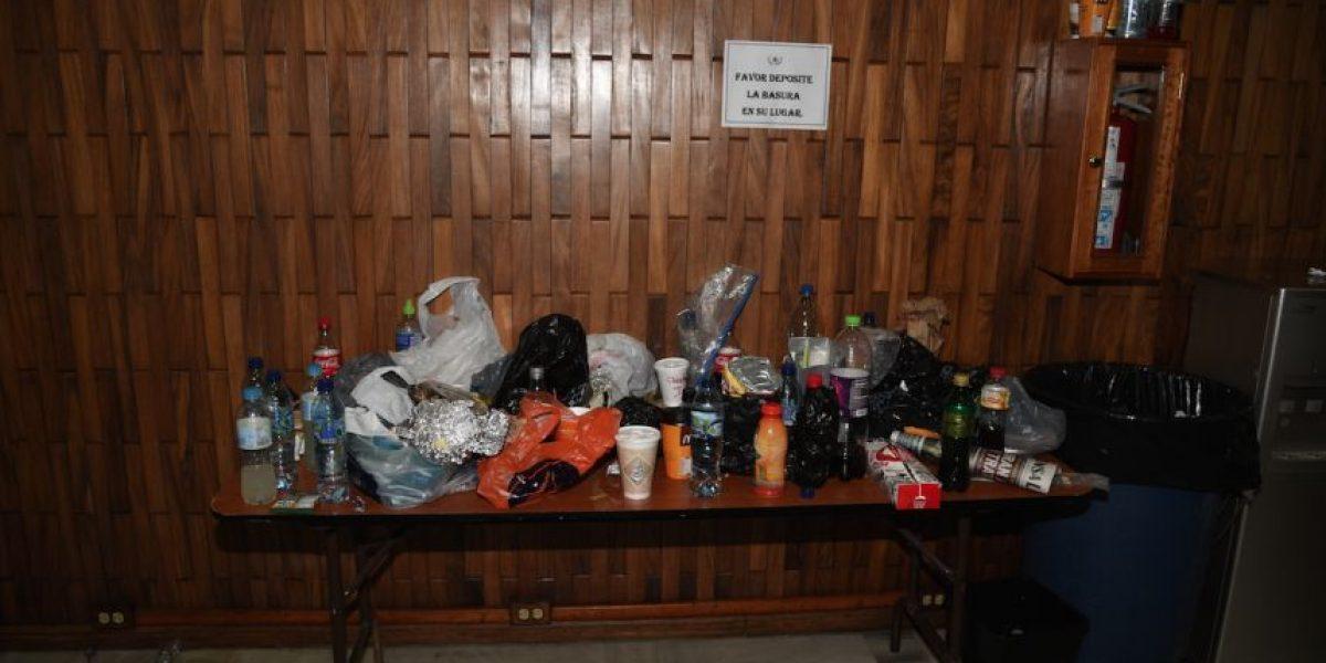 """Restos de comidas y bebidas dejan los implicados del caso """"Cooptación"""""""
