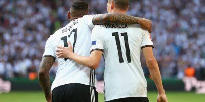 Alemania, en tanto, también está demostrando su condición de candidato y goleó a Eslovaquia por 3 a 0 Foto:Getty Images