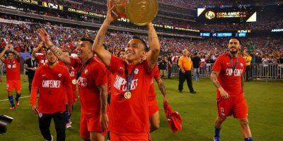 Chile ganó la Copa América Centenario tras vencer en los penales a Argentina Foto:Getty Images