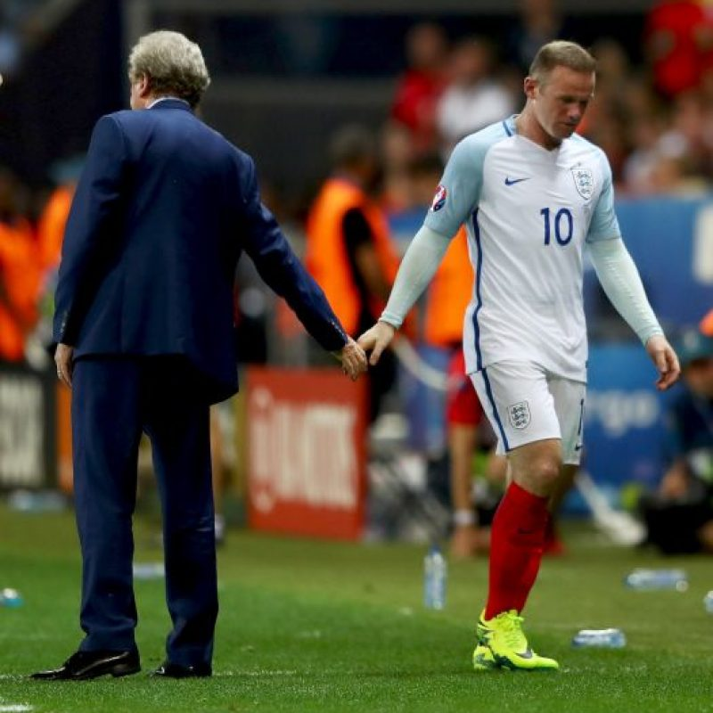 Así sufrieron los ingleses la sorpresiva eliminación a manos de Islandia Foto:Getty Images