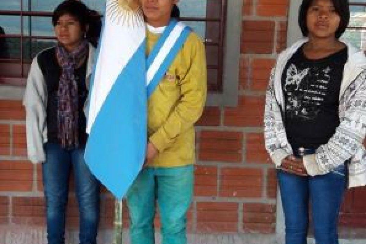 Esta es la foto que se hizo viral en redes sociales Foto:Facebook.com/Escuela-N-948