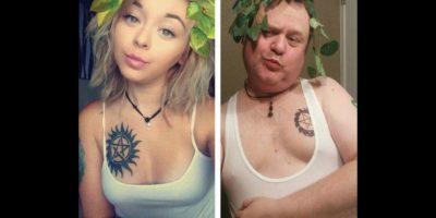 Papá se burla de los selfies sexy de su hija